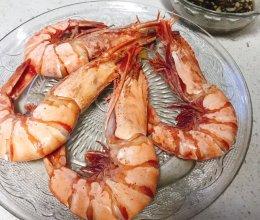 白灼红爪大对虾的做法