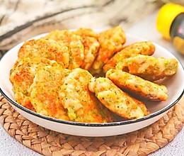 鸡胸肉时蔬饼的做法