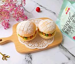 #爱好组-高筋#咖喱鸡肉包的做法