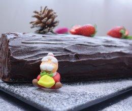 圣诞树桩蛋糕卷#令人羡慕的圣诞大餐#的做法