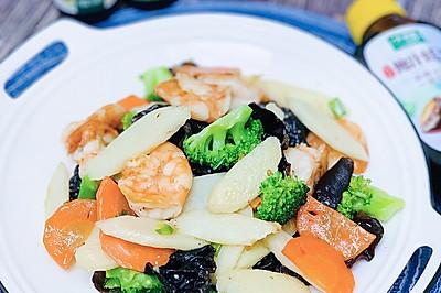 三鲜时蔬,简单适合减脂期