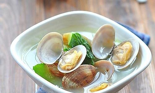 蛤蜊黄瓜汤的做法