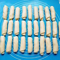 豆沙蛋黄酥#晒出你的团圆大餐#的做法图解9