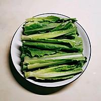 #餐桌上的春日限定#麻酱汁油麦菜的做法图解13