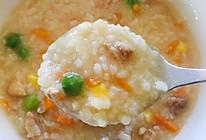 鸡肉什锦粥(无需食用油)