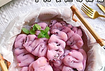 糯叽叽搅一搅就能做的蔓越莓手指麻薯的做法