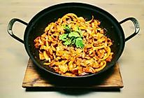 韩式辣炒五花肉的做法