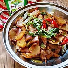 干锅土豆片#春天就酱吃#