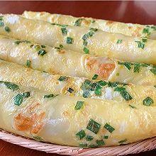 快手早餐:葱花鸡蛋饼
