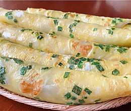 快手早餐:葱花鸡蛋饼的做法