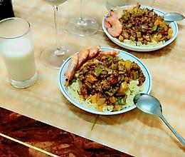 肉酱海鲜意面 #蚊子家的私房美食#的做法