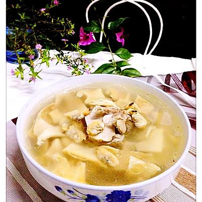 【笋干猪骨干蛤炖清汤】——冬季养生汤