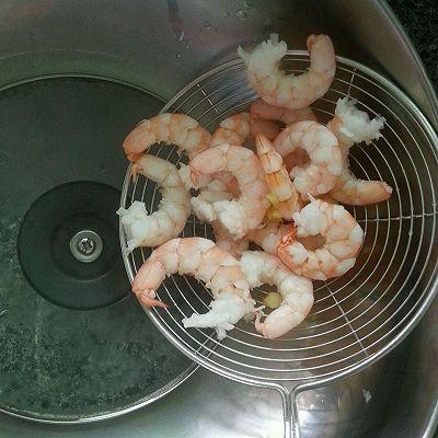 芒果鲜虾沙拉的做法 步骤2