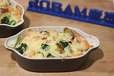 海鲜焗饭老板R015烤箱试用