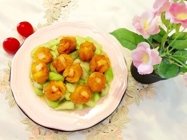 油条虾炒丝瓜(夏季清淡美味)的做法