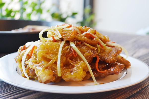 东北老式锅包肉的做法