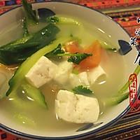 豆腐汤 | 小主今天来点清淡的?