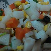 五彩蔬菜粒的做法图解3