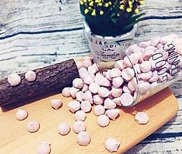 草莓溶溶豆的做法