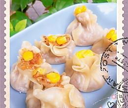 早餐最爱 糯米猪油渣香菇烧麦的做法