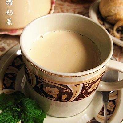 下午茶的好搭档--焦糖奶茶
