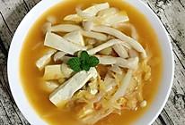 西红柿白菜豆腐汤的做法
