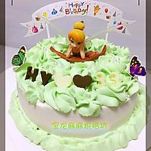 清新花仙子蛋糕