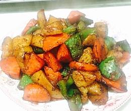 炒三蔬的做法