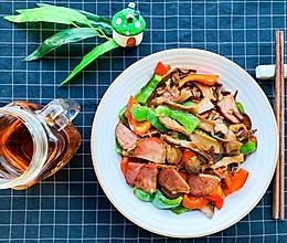 笋片炒腊肉,鲜掉眉毛的美味#春日时令,美味尝鲜#的做法