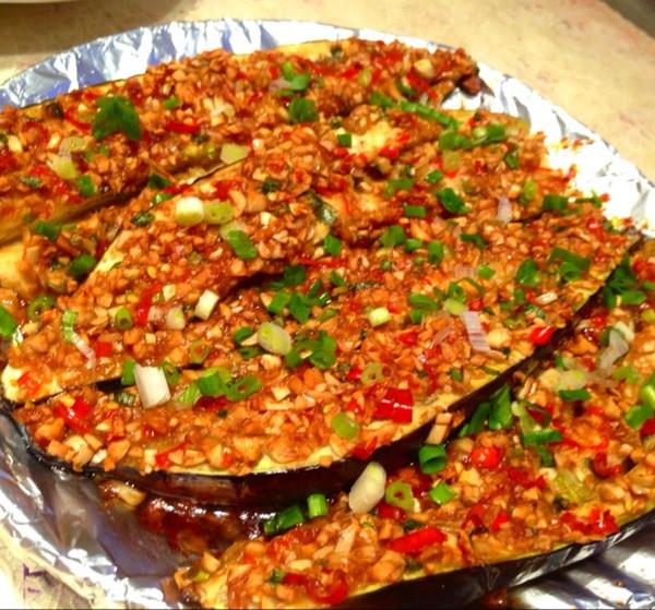 蒜蓉烤茄子的做法