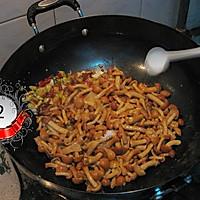 【猫记私房菜】酸辣滑子菇 的做法图解3