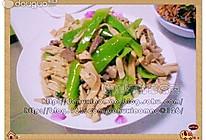 炒尖椒干豆腐的做法