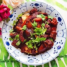 #就是红烧吃不腻!#土豆茭白红烧肉(懒人高压锅版)