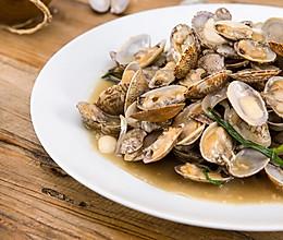 花雕酒酿焖花蛤|美食台的做法