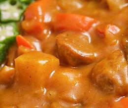 【咖喱牛肉丸便当】疫情期最抢手的肉,只涮火锅太可惜!的做法