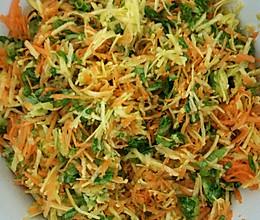 多彩蔬煎饼(适合不喜蔬菜的少儿)的做法