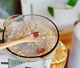 麦片莲藕藜麦浆的做法