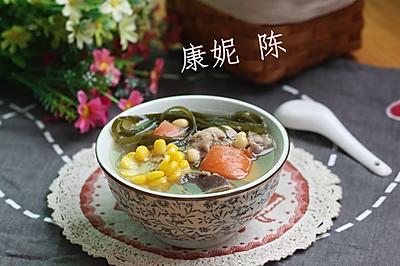 海带玉米排骨汤