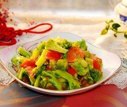 #元宵节美食大赏#西兰花素炒胡萝卜的做法