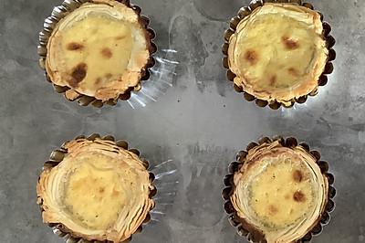 蛋挞(蛋挞皮和蛋挞液全自制)