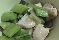 丝瓜炒鸡肉的做法