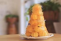 拔丝泡芙塔 | 酥脆的外皮 圣诞首选的做法