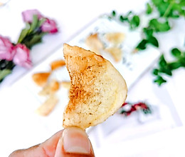 #我要上首焦#不用油炸的炸薯片的做法