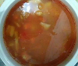 适合宝宝的番茄牛肉汤的做法