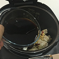 香菇黄豆炖猪蹄的做法图解12