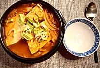 韩国泡菜豆腐汤 不到10元就能吃到正宗的美味的做法