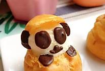 宝宝零食系列~熊猫泡芙的做法