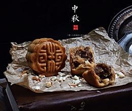 辣条牛肉干月饼的做法