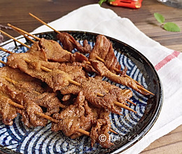 #夏天夜宵High起来!#上海小吃 香炸里脊肉串的做法