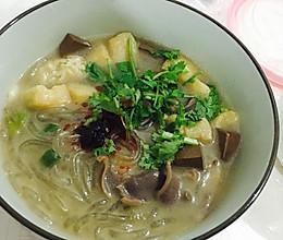 简易版鸭血粉丝汤的做法